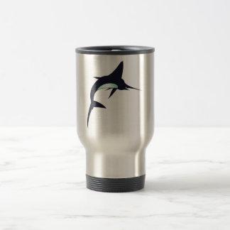 Sword fish swordfish travel mug