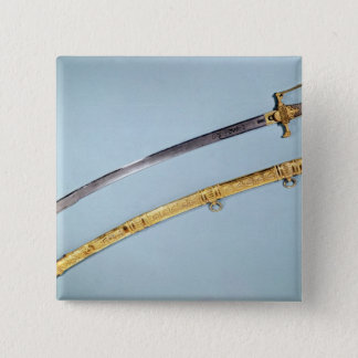 Sword given to Napoleon I  by the Directoire Button