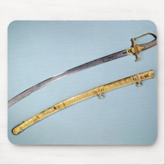 Sword given to Napoleon I  by the Directoire Mouse Pad