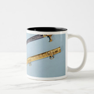 Sword given to Napoleon I  by the Directoire Two-Tone Coffee Mug