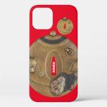 Sword guard - 分福茶釜, tea kettle - iPhone 12 case