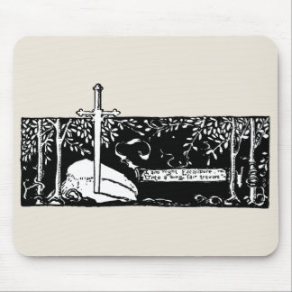 Sword In The Stone Mouse Pad