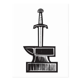 Sword in the Stone Postcard
