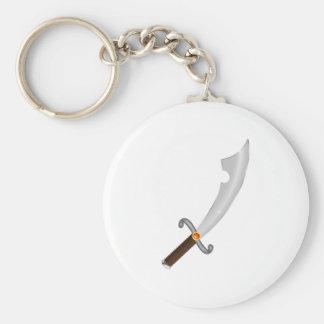 Sword more saber sabre keychain