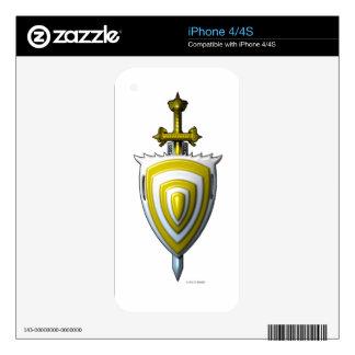 Sword n Shield iPhone 4 Skin