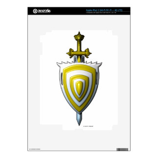 Sword n Shield Skin For iPad 3