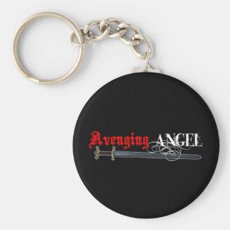 Sword of Angels Basic Round Button Keychain