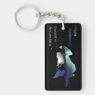 Sword of Antarctica Keychain