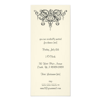 Sword of Justice (with Scales) Personalized Invitation
