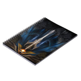 Sword OF Light Fractal Art Notebook