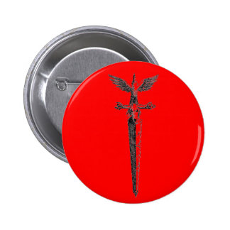 Sword of the damned pinback buttons