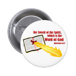 sword of the spirit christian gift pins