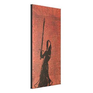 """""""Sword"""" Premium Canvas Print"""