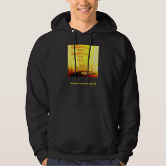 sword tounge cover hoodie