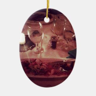 Swordfish Dinner Ceramic Ornament