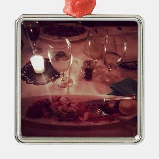 Swordfish Dinner Metal Ornament
