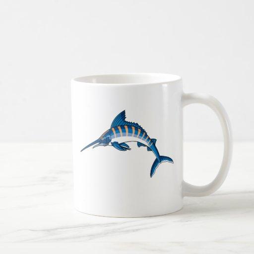 Swordfish Leap Coffee Mug