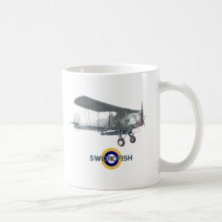 Swordfish mug, also available as frosted glass coffee mug