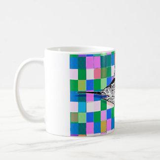 Swordfish on the Tiles Pop Art Mug