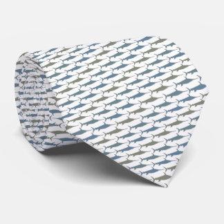 Swordfish Tie Armani Gray