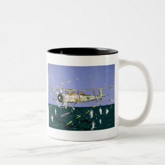 , Swordfish Two-Tone Coffee Mug