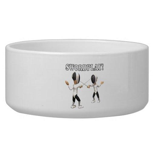 Swordplay Pet Water Bowls