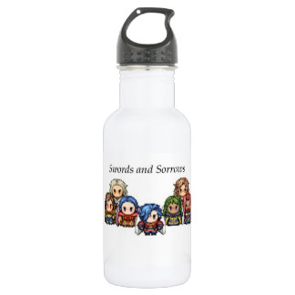 Swords and Sorrows Group Water Bottle