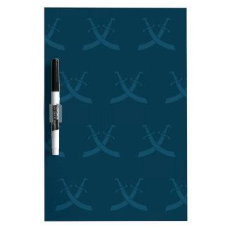Swords Blues Dry-Erase Boards
