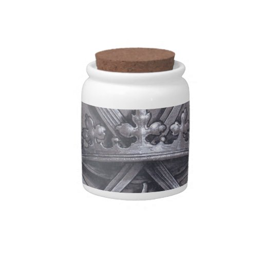 Swords Crown and Heart Candy Jars