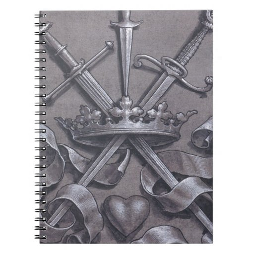 Swords Crown and Heart Journals