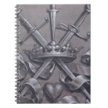 Swords Crown and Heart Note Book