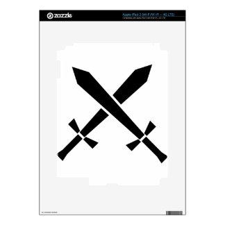 swords iPad 3 skins