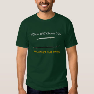 Swords of Legend: Which Will Choose You? Tee Shirt