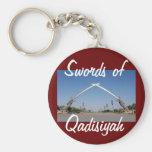 Swords_of_qadisiyah, espadas de, Qadisiyah Llavero Personalizado