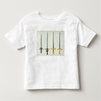 Swords, plate from 'A History of the Development a Toddler T-shirt