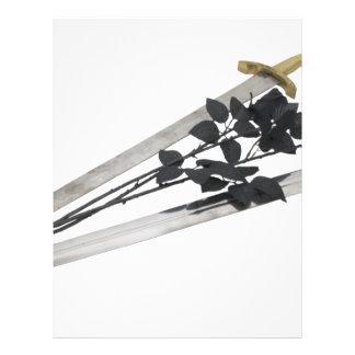SwordsBlackRoses061209 Custom Flyer
