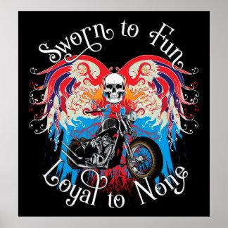 Sworn to Fun, Loyal to None Poster
