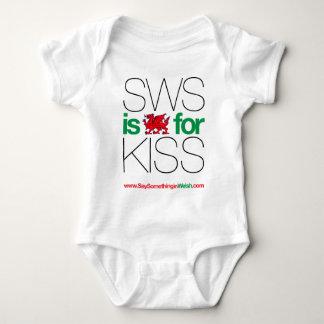 ¡SWS es el Galés para el beso! Poleras