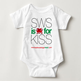 SWS is the Welsh for Kiss! Tee Shirt