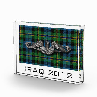 SWS Polaris Tartan narrow Acrylic Award