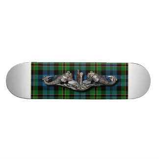 SWS Polaris Tartan narrow Skateboard Deck
