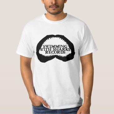 Professional Business SWS Records Logo T White T-Shirt