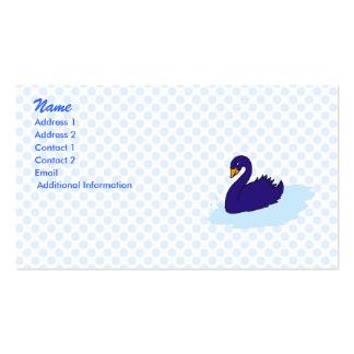 Swurple Swan Business Card