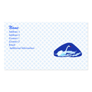 Swurreal Swan Business Card