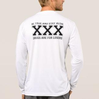 SXE gobierna - medios rectos del borde que soy Camiseta