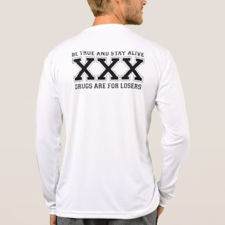 SXE Rules - Straight Edge Means I'm Better Than U Shirt