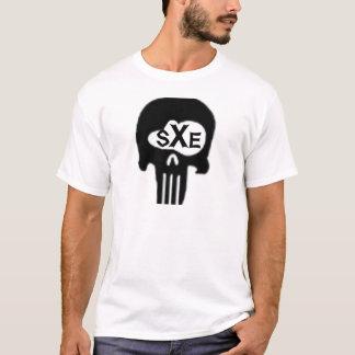 sXe Skull T-Shirt