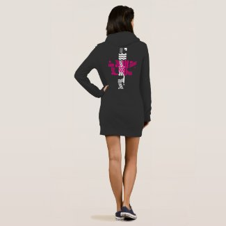 Sxisma Fashion American Apparel Hoodie Dress