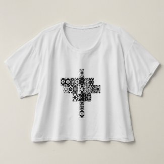 Sxisma Fashion Bella+Canvas Boxy Crop Top T-Shirt