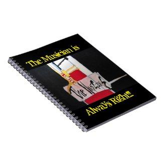 Sxisma-The Musicians Notebook-1 Notebook